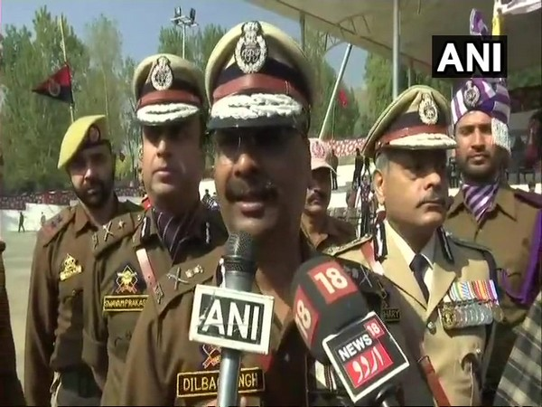 Jammu and Kashmir Director General of Police (DGP) Dilbagh Singh
