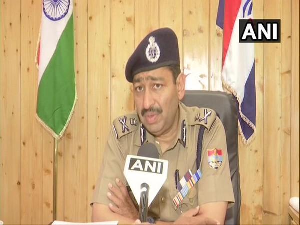 Uttarakhand Director-General of Police Ashok Kumar on Friday. (Photo/ANI)