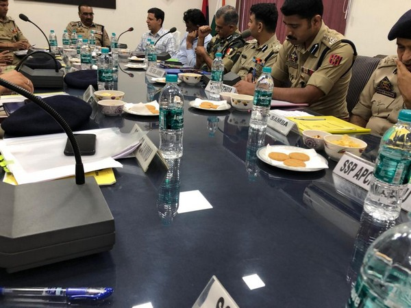 Jammu Kashmir DGP Dilbag Singh visited Rajouri, Udhampur and Jammu to review the security situation.