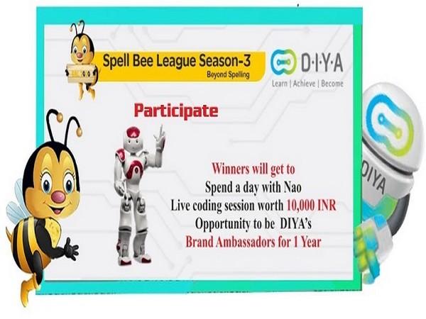 DIYA joins Spell Bee League Season 3 as Exclusive Robotic partner