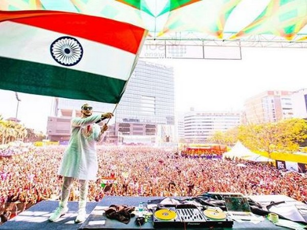 DJ Snake during an event in India (Image courtesy: Instagram)