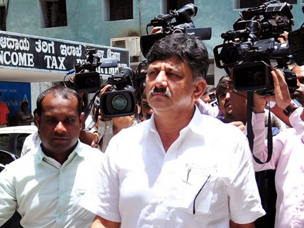 Karnataka Congress leader D K Shivakumar (File photo)