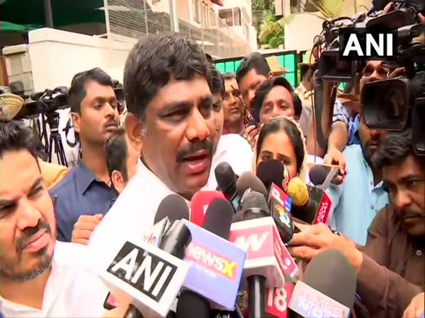 Congress MP DK Suresh (File photo)
