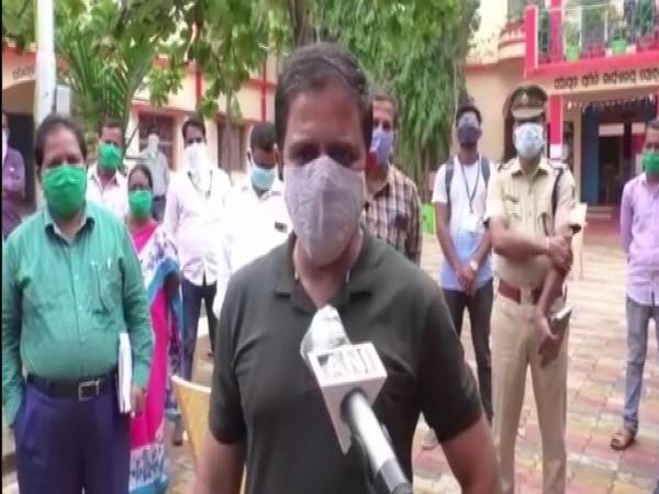 District Magistrate of Ganjam Vijay Amruta Kulange.
