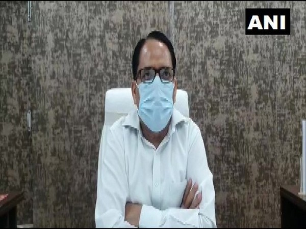Kannauj District Magistrate, Rakesh Kumar Mishra speaks to ANI on Monday. (Photo/ANI)