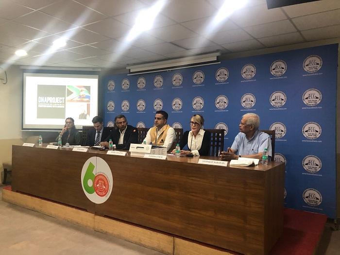 L-R: Arneeta Vasudeva, Tim Schellberg, Vivek Sood, Dr. Vivek Sahajpal, Vanessa Lynch and Venkat Narayan