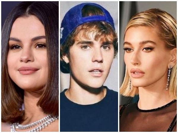 Selena Gomez, Justin Bieber and Hailey Baldwin (Image courtesy: Instagram)