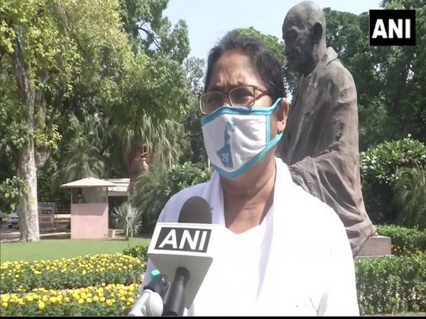 TMC MP Dola Sen speaking to ANI in New Delhi on Tuesday. Photo/ANI