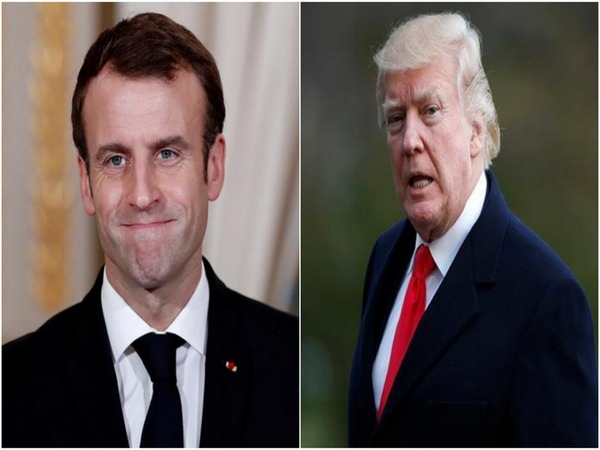 US President Donald Trump and French President  Emmanuel Macron (File Photo)