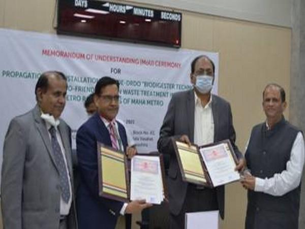 Dr AK Singh and Dr Brijesh Dixit exchanged the MoU (Photo: PIB)