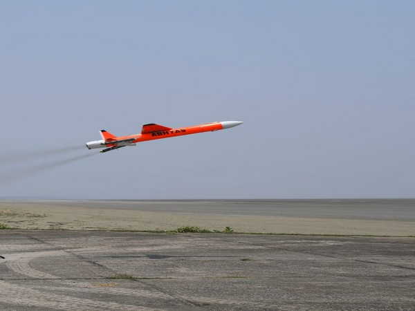 The ABHYAS is an advanced expendable target which can be used for simulating different types of aircraft and missiles.