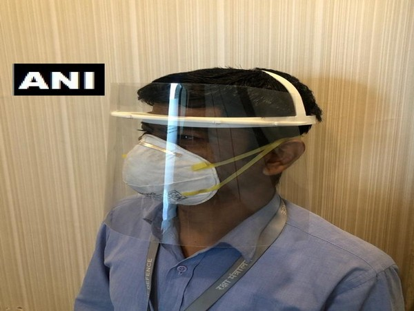 Full face shield developed by DRDO and Wipro 3D