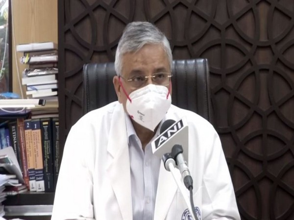 Dr Randeep Guleria, Director, All India Institute of Medical Sciences (AIIMS) speaking to ANI on Tuesday