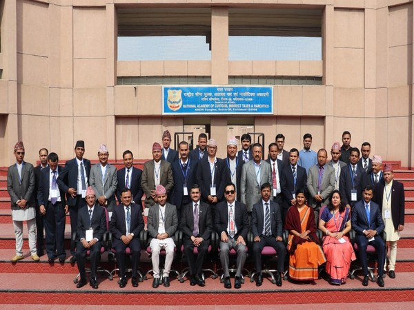DRI Nepal officers at NACIN