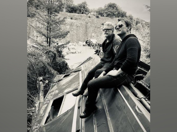 Christopher McQuarrie with 'Mission Impossible 7' star Tom Cruise (Image Source: Instagram)