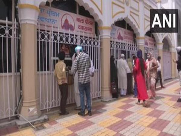 The medicine shop opened by DSGMC in New Delhi. Photo/ANI