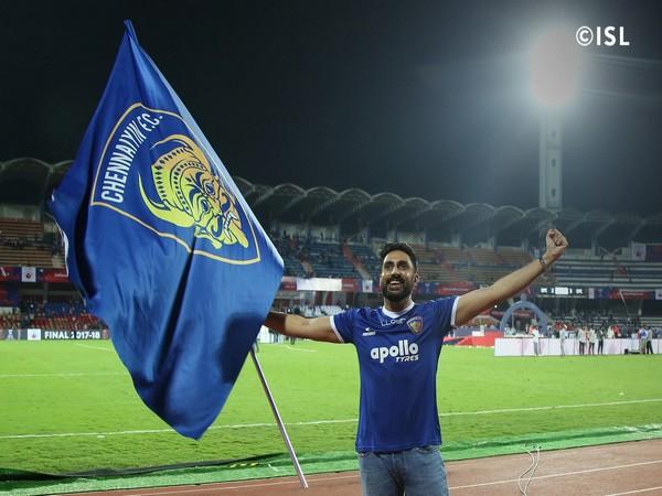 Chennaiyin FC co-owner Abhishek Bachchan (Twitter/Abhishek Bachchan)