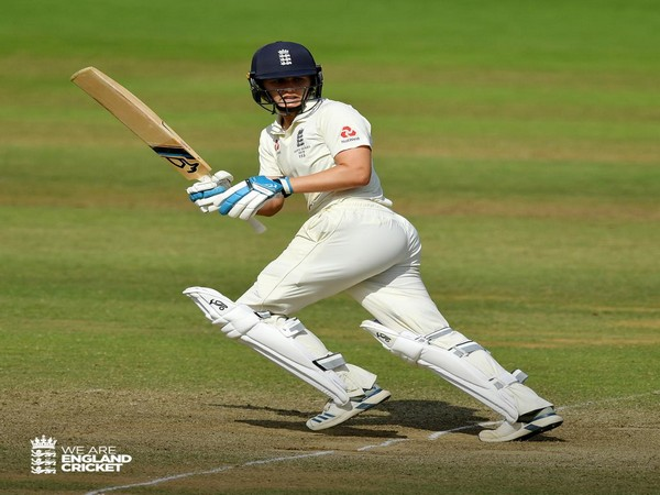 England's Natalie Sciver in action (Photo/England Cricket Twitter)