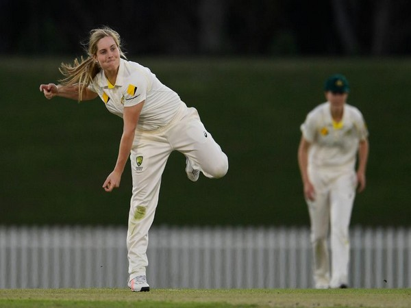 Australia's left-arm spinner Sophie Molineux (Photo/ICC Twitter)