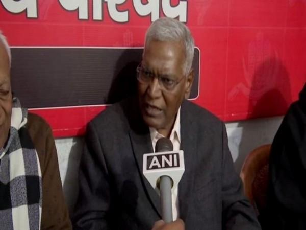 CPI leader D Raja