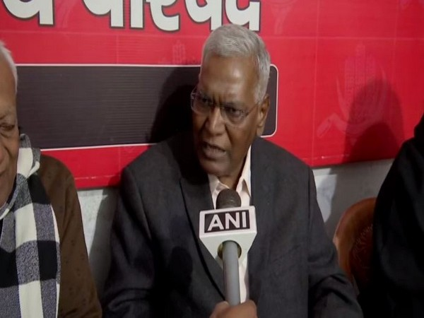 CPI National Seceratory D Raja (File Photo)