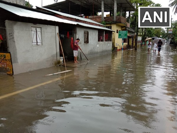 Waterlogging in Cooch Behar district after incessant rainfall