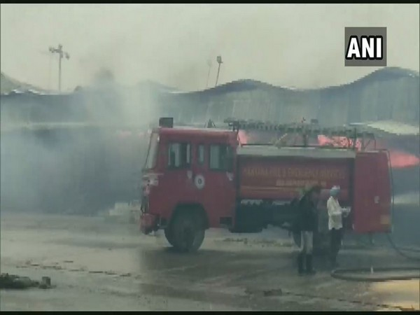 Major fire at Anaj Mandi in Ambala [File Photo/ANI]