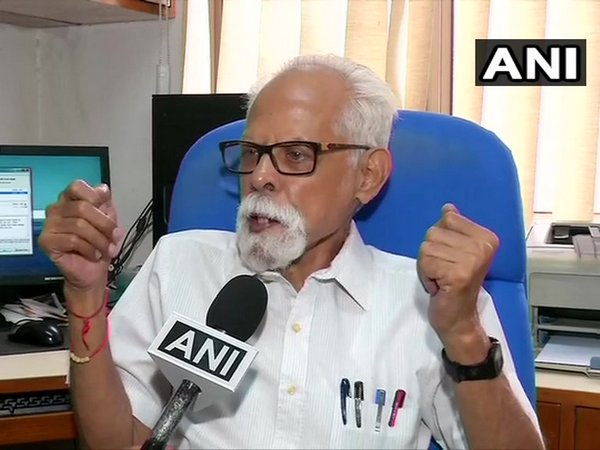 G Balachandran, Former Director of IDSA speaking to ANI on Monday. Photo/ANI