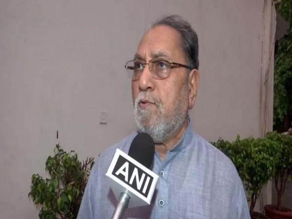 Congress Rajya Sabha MP Hussain Dalwai speaking to ANI in New Delhi on Monday.