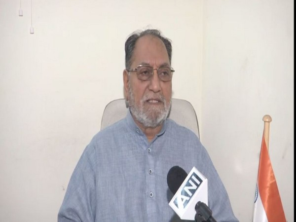 Congress leader Husain Dalwai speaking to ANI in New Delhi on Thursday. Photo/ANI