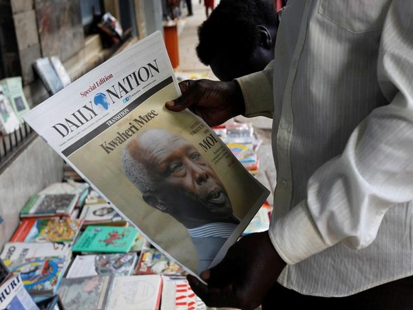 Kenya's longest-serving president, Daniel Arap Moi, who died on Tuesday.