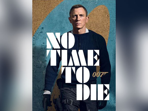 Daniel Craig on 'No Time To Die' poster