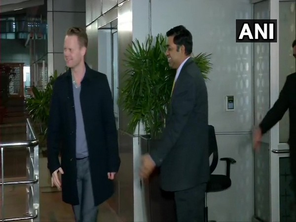 Danish Foreign Minister Jeppe Kofod arrived in New Delhi