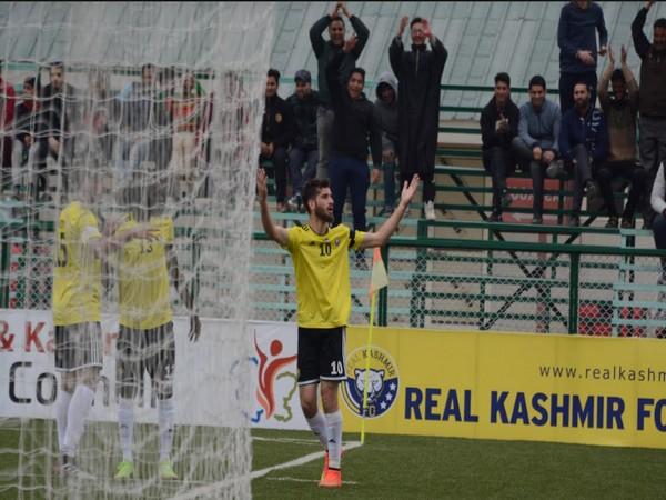 Real Kashmir FC midfielder Danish Farooq (Photo/ I-League)
