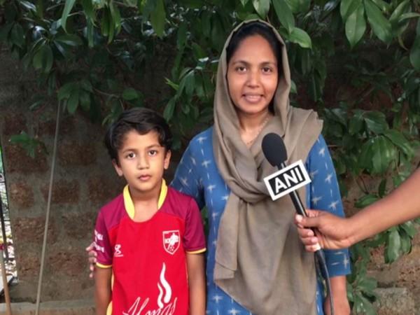 10-year-old zero-degree corner kick boy focused on football only