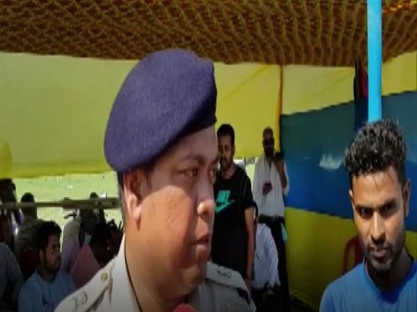 Darrang Additional Superintendent of Police Rupam Phukan (Photo/ANI)