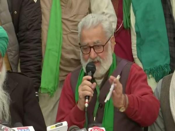 Krantikari Kisan Union chief Darshan Pal. (Photo/ANI)