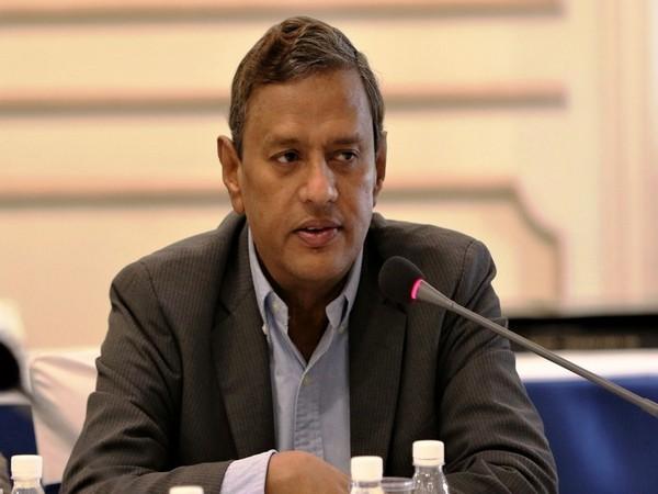 AIFF General Secretary Kushal Das (Photo/Indian Football Team Twitter)