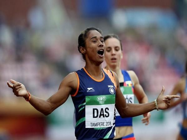 Ace sprinter Hima Das