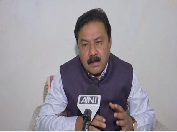 Ranjit Kumar Dass speaking to ANI in New Delhi on Friday.