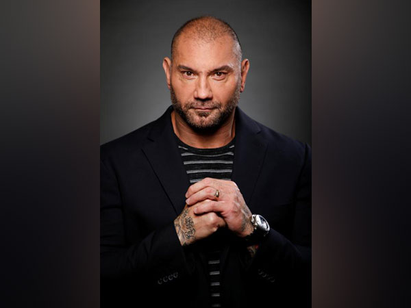 "Actor Dave Bautista poses for a portrait while promoting Marvel Studios' ""Guardians of the Galaxy Vol. 2."""