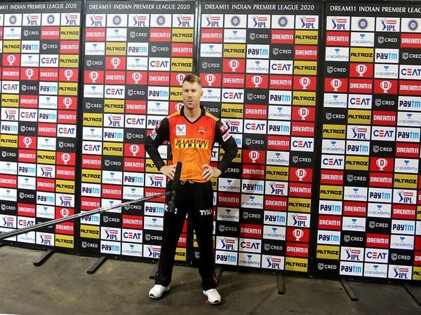SRH skipper David Warner (Photo/IPL/BCCI)