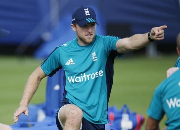 England's fast bowler David Willey