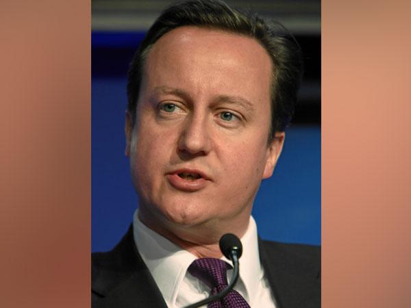 Former British prime minister David Cameron (File photo)