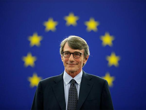 President of the European Parliament David Sassoli