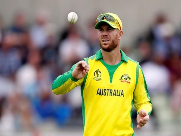 Australia's left-handed batsman David Warner (file image)