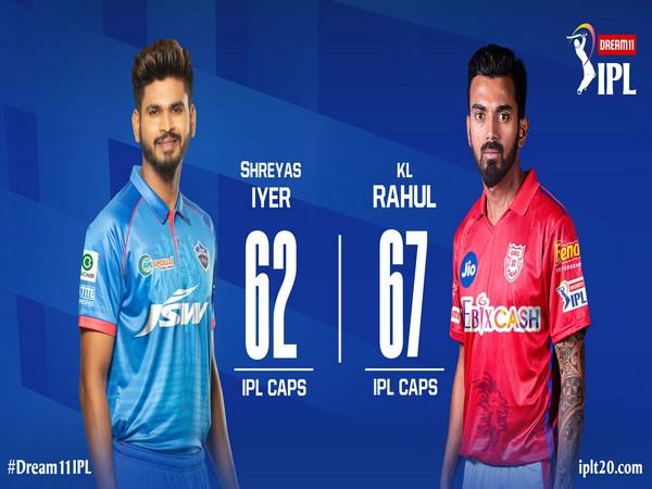 DC skipper Shreyas Iyer and Kings XI Punjab captain KL Rahul (Photo/IPL Twitter)