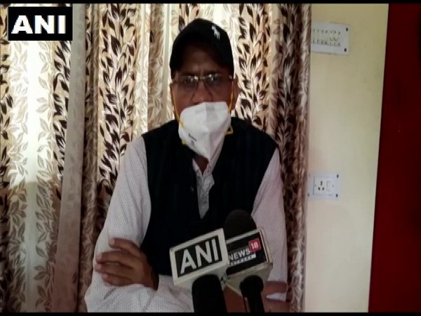 Surendra Nath Pandey, District Magistrate, Champawat speaking to media on Thursday. (Photo/ANI)