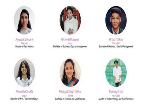 Scholarship Winners 2021: Augusta Mariaraj, Bhavini Bhargava, Hritish Kakati, Moulishri Shukla, Rubaiyat Singh Takhar and Tanmay Arora