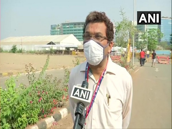 Dean of BKC Jumbo COVID-19 vaccination center, Dr. Rajesh Dhere. (Photo/ANI)